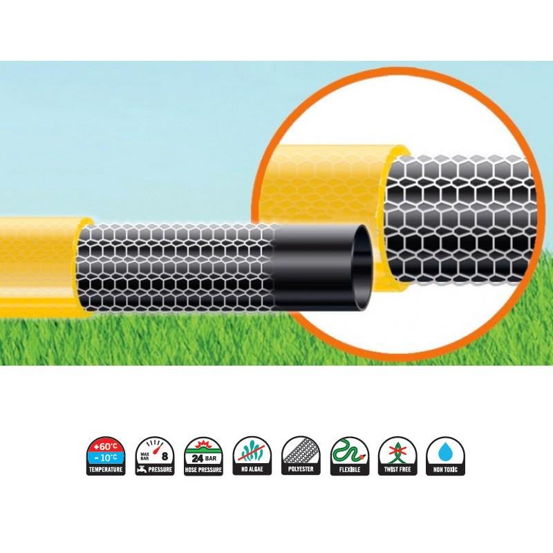 Tubo irrigazione 3 4 50 metri giardino idraulica - Prezzo tubo irrigazione giardino ...