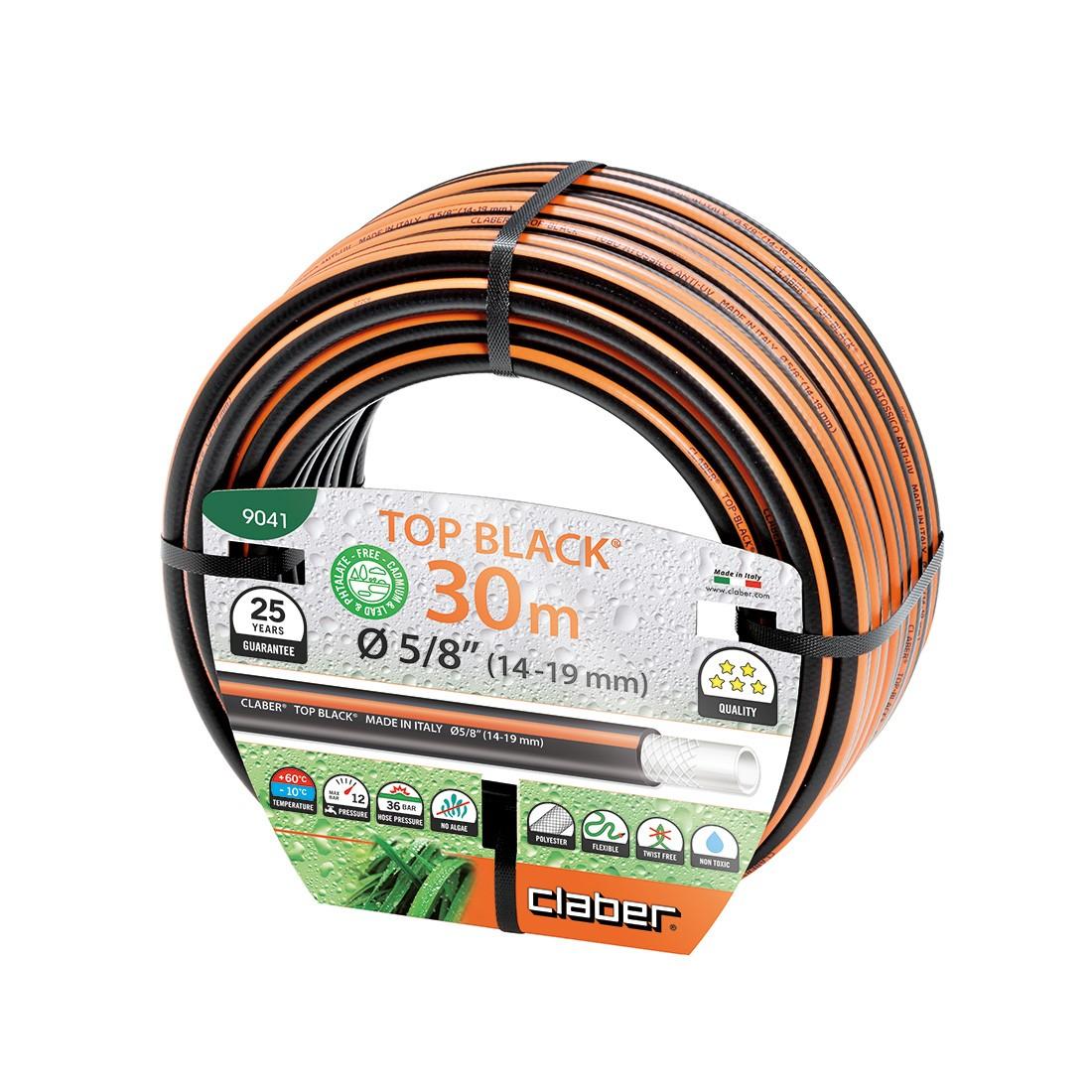 Tubo da irrigazione nero claber top black 30 metri - Prezzo tubo irrigazione giardino ...