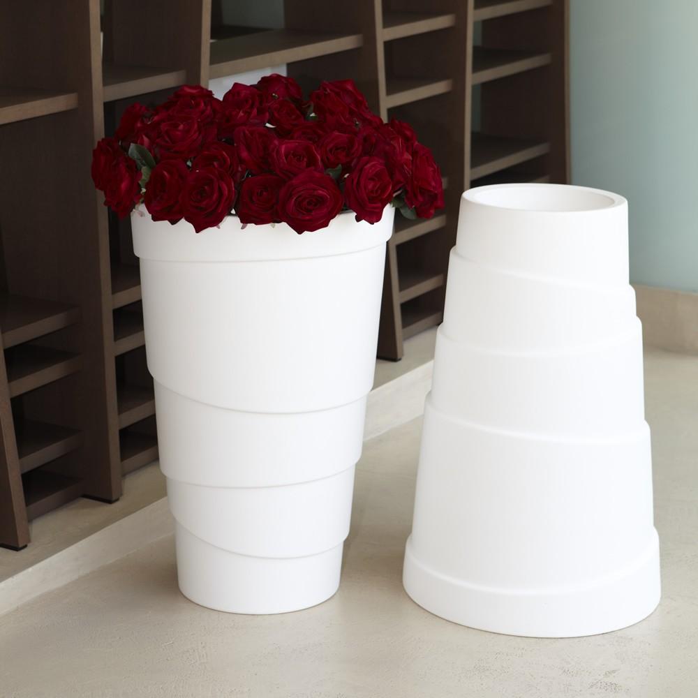 Vasi da giardino e casa in plastica zig zag nicoli for Vasi nicoli