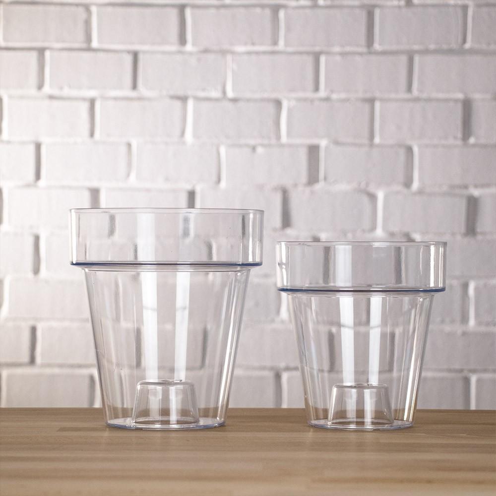 Vaso per orchidea trasparente vendita online for Vendita vasi plastica
