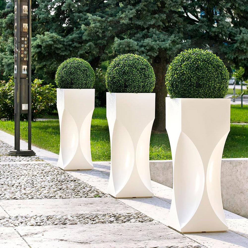 Vasi di design per esterno serie venezia vendita online - Offerte vasi da giardino ...