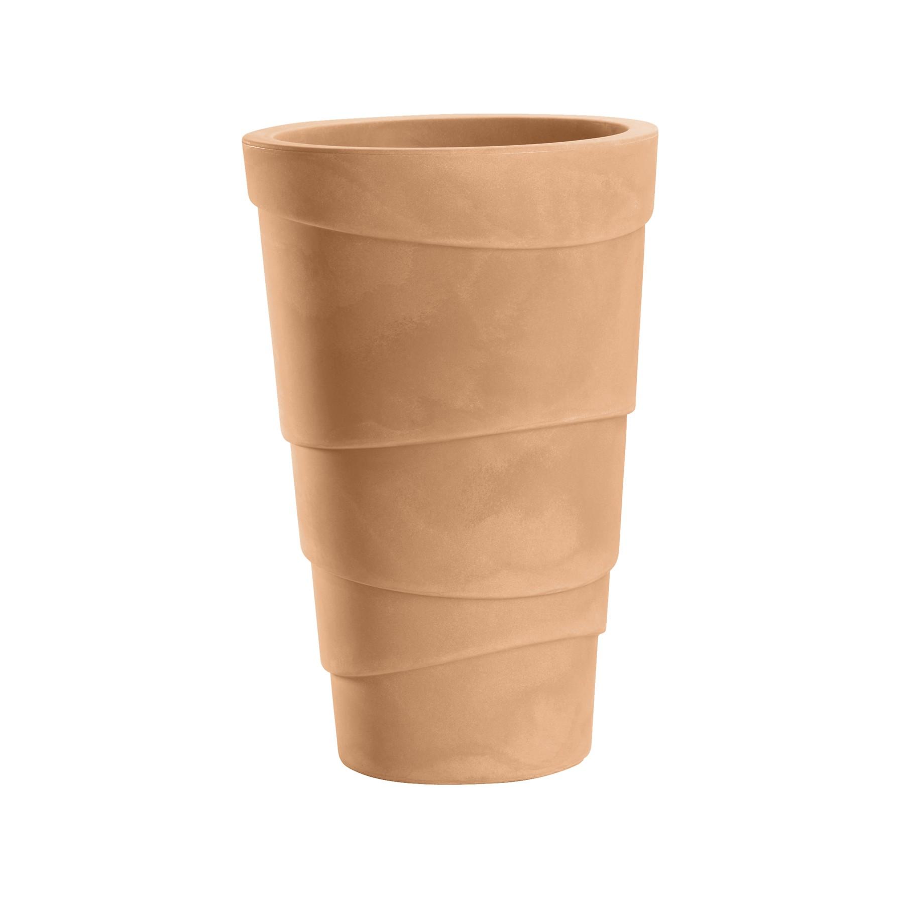 Vasi da giardino e casa in plastica zig zag nicoli - Vaso da giardino ...