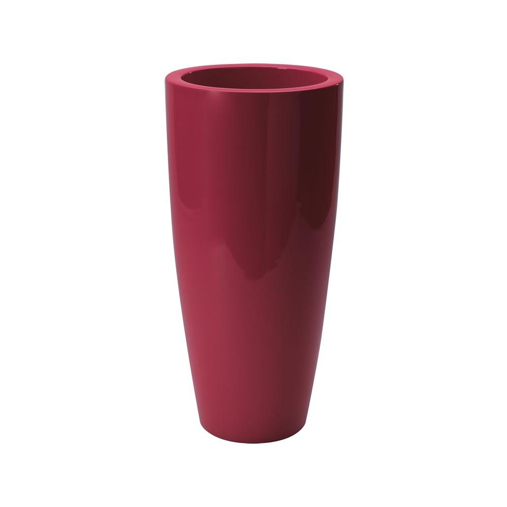 Vaso di design alto talos gloss nicoli for Vasi da interno alti