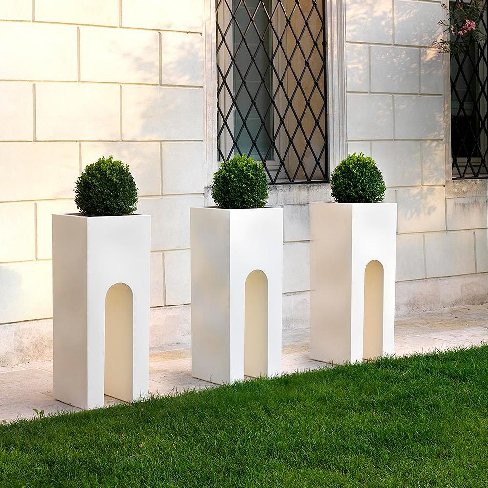 Vaso esterno di design roma vendita online - Vasi da esterno design ...