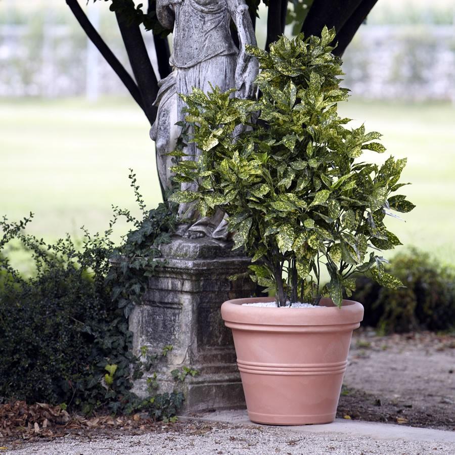 Vaso classico finto terracotta cotto argilla doppiobordo for Vasi nicoli