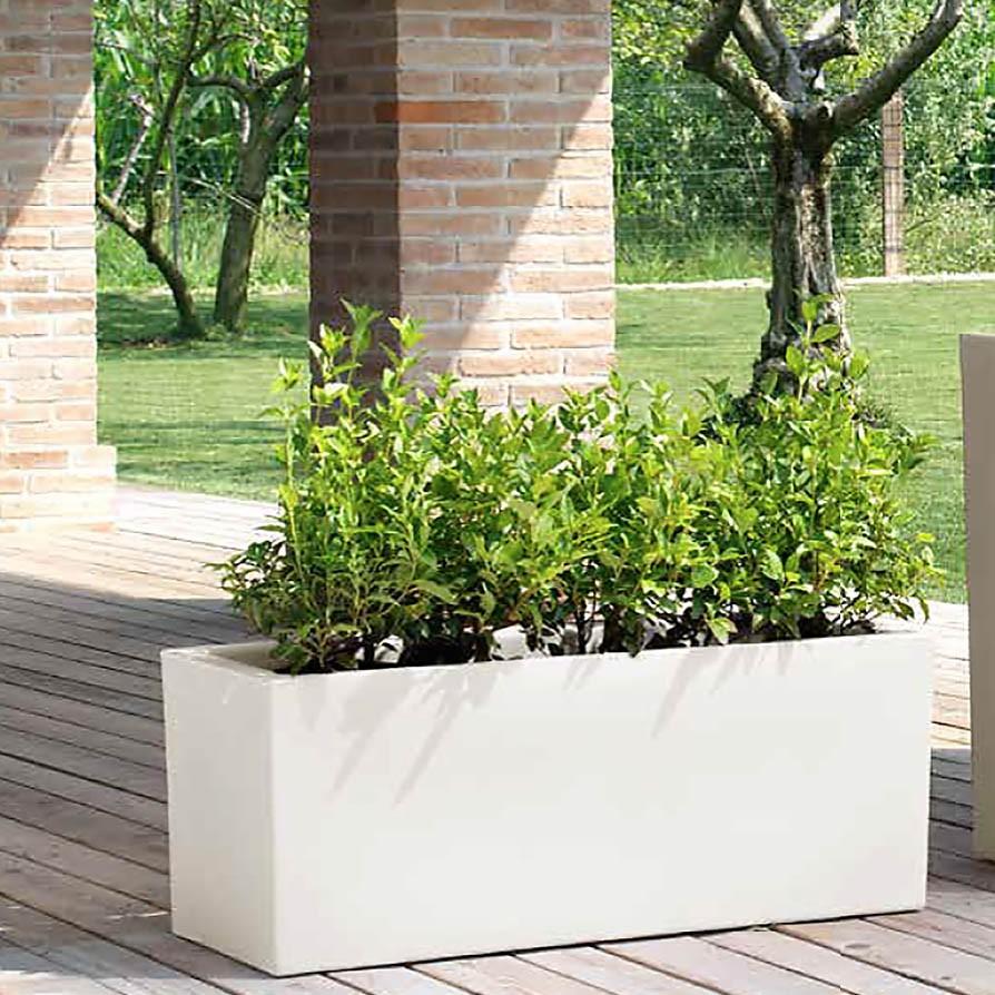 Vaso a cassa per giardino schio sacca for Vasi esterno
