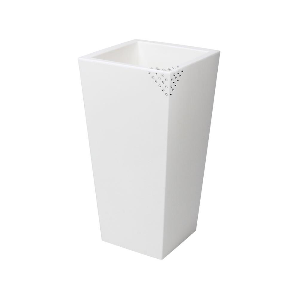 vaso grande plastica
