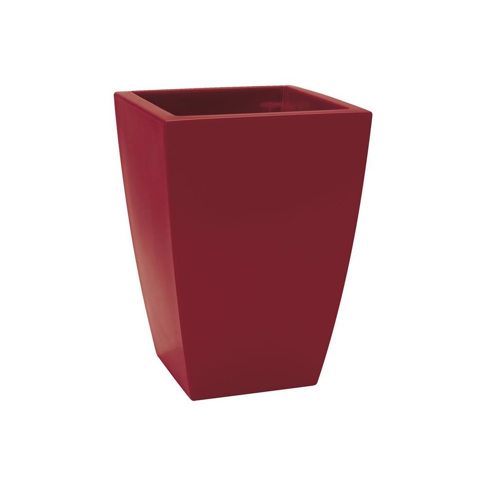 Vaso moderno di design logos gloss nicoli for Vasi rossi moderni