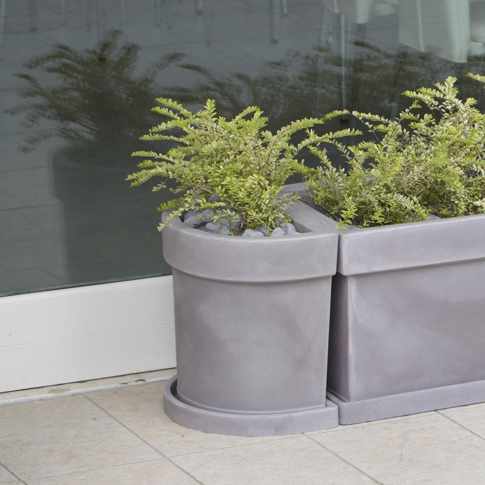 Vaso a parete per piante themis nicoli for Vasi nicoli