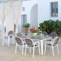 Set Tavolo e Sedie da Giardino Alloro/Palma di Nardi