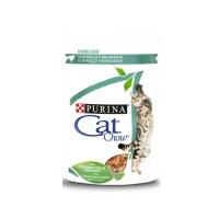 Cat Chow Adulti Sterlized | Pollo e Melanzane | 85 gr