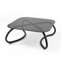 Tavolo vetro e alluminio Loto Relax di Nardi