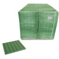 Piastrella in plastica per pavimento componibile esterno