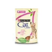Cat Chow Kitten | Agnello e Zucchine | 85 gr