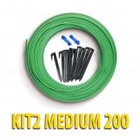 Kit Cavo e Picchetti | Medium 200 Robomow