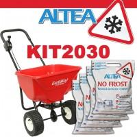 Kit sale antighiaccio non corrosivo No Frost con carrello