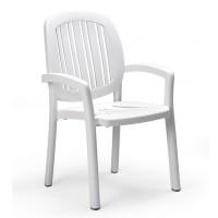 Sedia classica per esterno Ponza di Nardi - Bianca