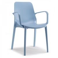 Ginevra Scab Design - Sedia in tecnopolimero - AZZURRO