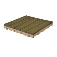 Piastrelle in legno per pavimenti esterni Woodplate Robinia Grigio