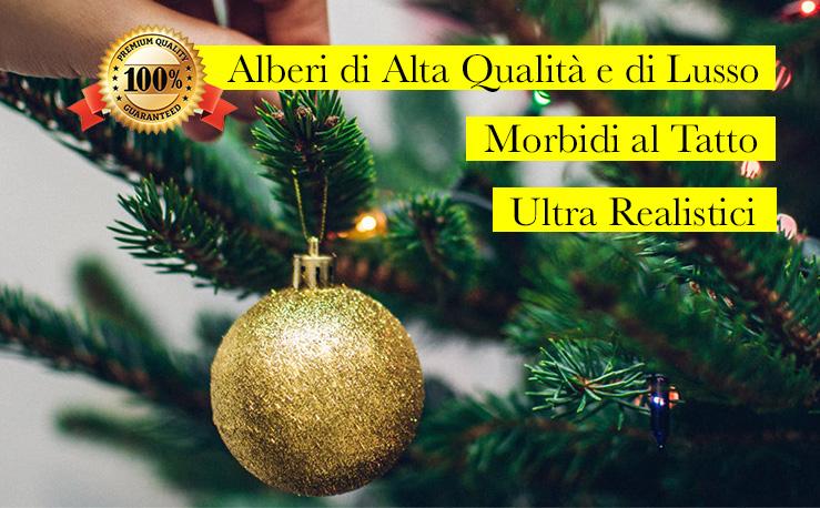 Albero Di Natale Online.Alberi Di Natale Artificiali Di Qualita E Di Lusso Vendita Online