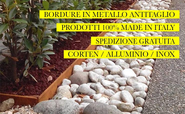 Bordure aiuole e giardino vendita online