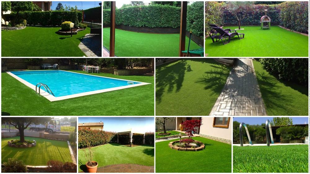 Erba sintetica per giardini e terrazze vendita online - Erba artificiale per giardini ...