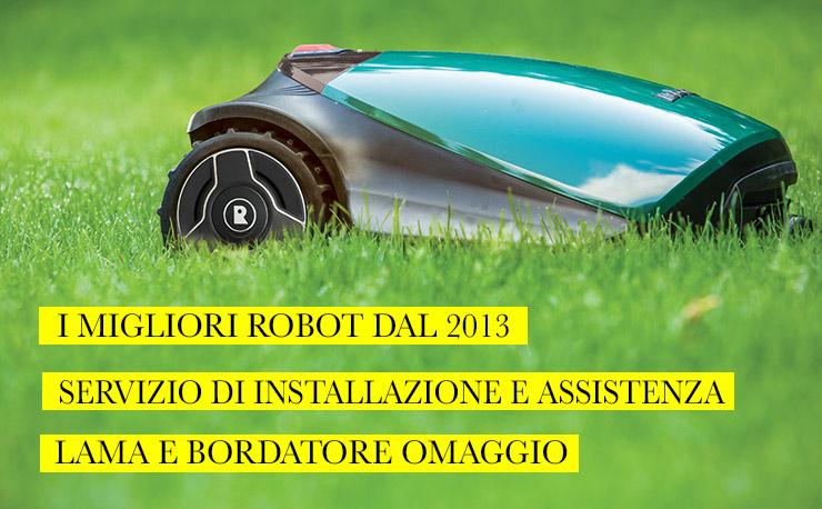 Rivenditore Robomow Robot Tagliaerba