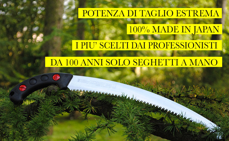 Silky Seghetti catalogo Prezzi
