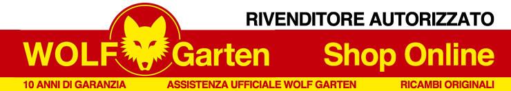 Rivenditore Wolf Garten Italia. Prezzi e ricambi