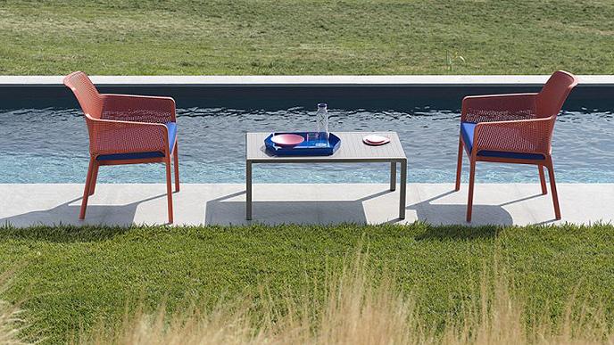 sedia per esterno