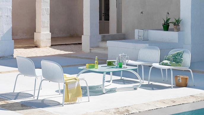 tavolo Nardi Loto Relax 95 da giardino