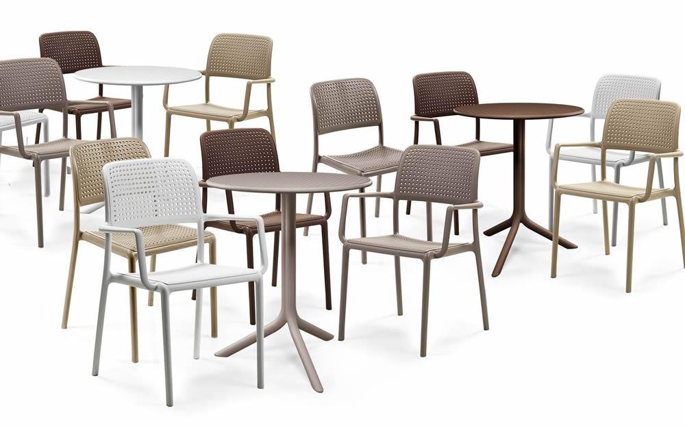 tavolino rotondo da esterno