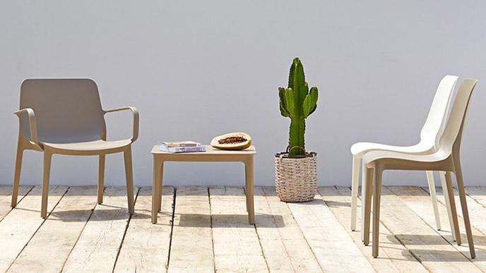 Sedia Ginevra Lounge Scab Design